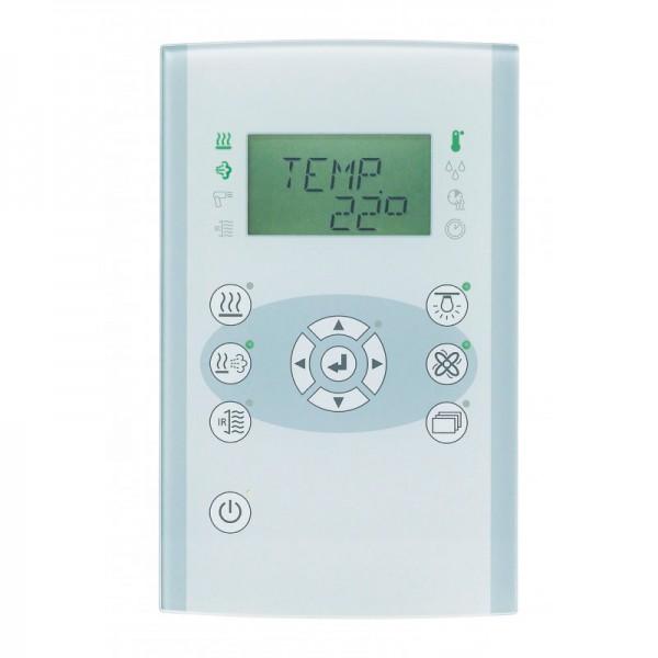 """Saunasteuerung Combi """"Fasel """"familyline FCU3200-DESIGN-GLAS"""" bis 9kW"""