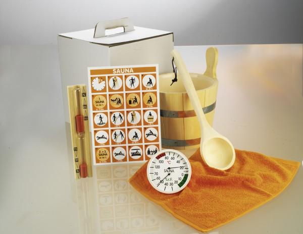 Sauna-Zubehör-Set ''Standard'' 6-teilig