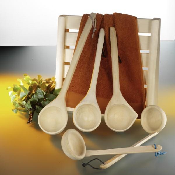 Schöpfkelle aus Holz 50 cm