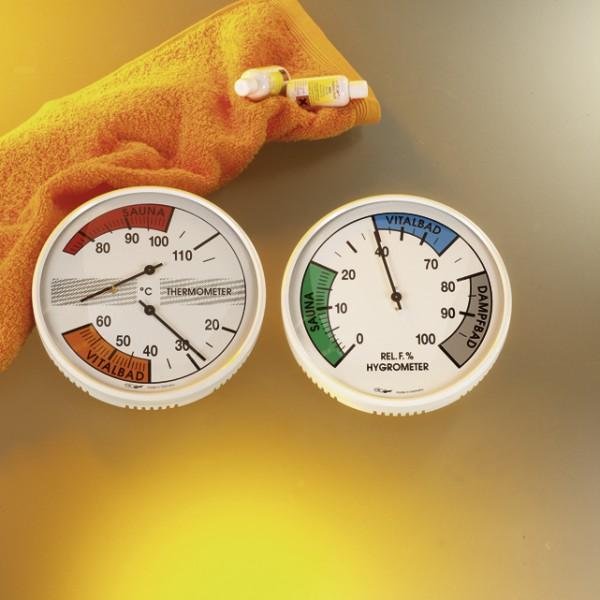 Hygrometer Sauna/Vitalbad 160 mm