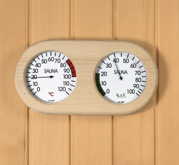 Sauna-Messstation, Messgeräte 120 mm