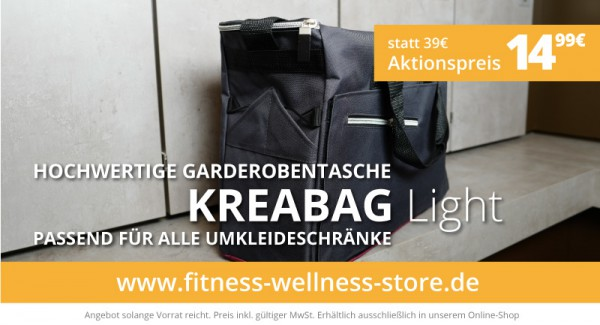 Kreabag Light Garderobentasche - Sommeraktion 2020