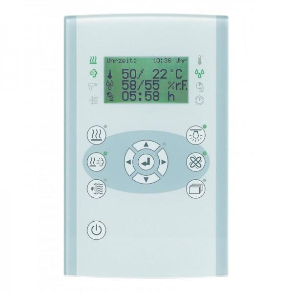 """Saunasteuerung Fasel """"profiline FCU4000-DESIGN-GLAS"""" bis 9kW"""
