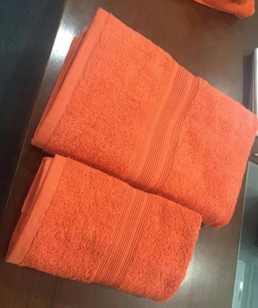 Handtuch mit Bestickung
